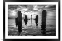 Still Waters, Framed Mounted Print
