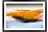 The mists of time., Framed Mounted Print