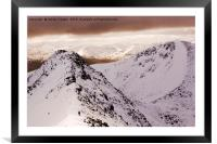 Mamores , Framed Mounted Print