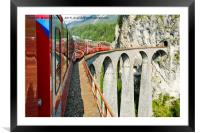 Viaduct., Framed Mounted Print