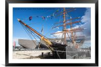Discovery V and A, Framed Mounted Print