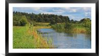 Dilham Canal - Norfolk, Framed Mounted Print