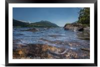 Water Level, Framed Mounted Print