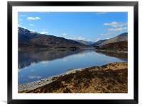 Loch Alsh, Framed Mounted Print
