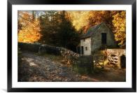 Beautiful Milldale, Framed Mounted Print