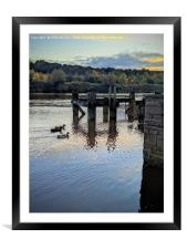The Wansbeck, Framed Mounted Print