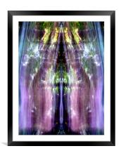 The Spirits Will Show You Around , Framed Mounted Print