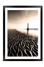 Point of Ayr, Framed Mounted Print