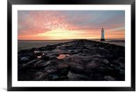 New Brighton on The Wirral, Framed Mounted Print