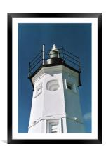 Anstruther Lighthouse, Framed Mounted Print