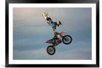 Stunt Rider 2, Framed Mounted Print