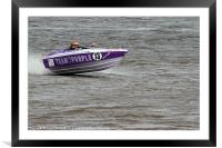 F1 Powerboat Championships 2011, Framed Mounted Print
