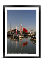 Clippers Moored, Framed Mounted Print