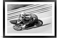 Racing Speed, Framed Mounted Print