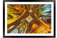Canterbury Cathedral, Framed Mounted Print