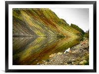 Reflection in the Loch, Framed Mounted Print