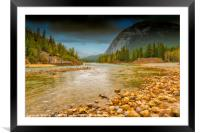 River Of No Return, Framed Mounted Print