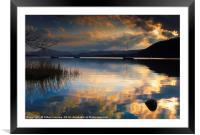 Ullswater Sunset, Framed Mounted Print