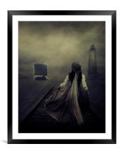 after the long waiting, Framed Mounted Print