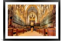 Lincoln Cathedral, Framed Mounted Print