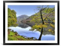 Buttermere,Cumbria, Framed Mounted Print