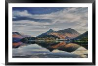 The Pap of Glencoe Scotland, Framed Mounted Print