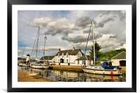 Caledonian Canal at Corpach, Framed Mounted Print