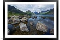 Wastwater Lake District, Framed Mounted Print