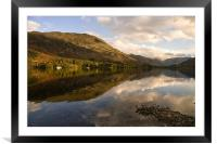 Ullswater Autumn Reflections, Framed Mounted Print