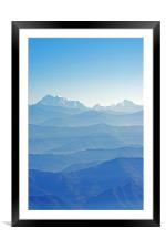 Hima-Layers, Framed Mounted Print