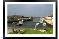 Ballintoy Harbour, Framed Mounted Print