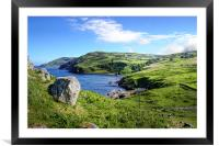 Antrim Coast from Torr Head, Framed Mounted Print