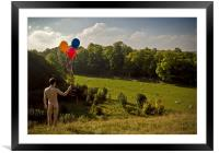 Surreal Field, Framed Mounted Print