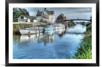 Crown and Anchor  2010, Framed Mounted Print