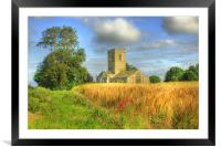 St Andrews Church 2012, Framed Mounted Print