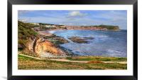 Scarborough Bay 2012, Framed Mounted Print