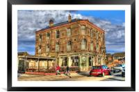 Halfway Hotel, Hull 2012, Framed Mounted Print