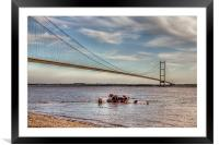 Humber Recovery 2014, Framed Mounted Print
