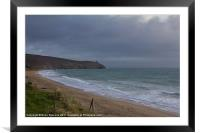 Rinsey Head, Framed Mounted Print