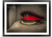 The Captains Cap, Framed Mounted Print