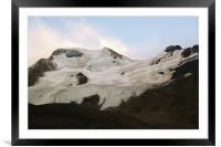 The Columbia icefields, Alberta, Canada, c, Framed Mounted Print