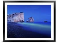 Aphrodites Blues, Framed Mounted Print