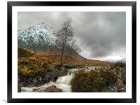 The Buachaille Etive Mor, Framed Mounted Print