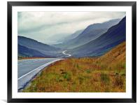 The West Coast Of Scotland., Framed Mounted Print
