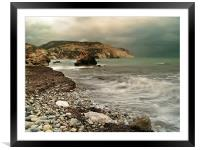 Aphrodite's Storm, Framed Mounted Print