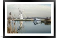 Thurne Mill, Framed Mounted Print
