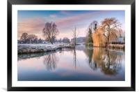 River Bure at Coltishall, Framed Mounted Print