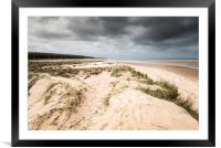 Holkham Beach and Woods, Framed Mounted Print