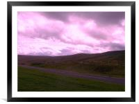 Scottish Countryside, Framed Mounted Print