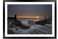 A New Day Dawning., Framed Mounted Print